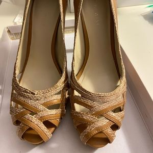 Nine West Heels in tan
